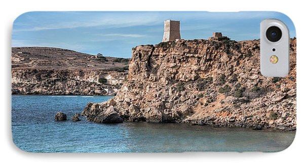 Ghajn Tuffieha Bay - Malta IPhone Case by Joana Kruse