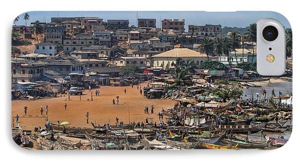 Ghana Africa IPhone Case by David Gleeson