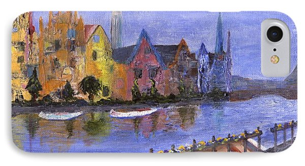 IPhone Case featuring the painting Ghent by Jamie Frier