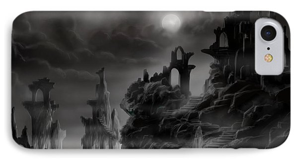Ghost Castle Phone Case by James Christopher Hill