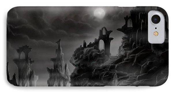 Ghost Castle IPhone Case