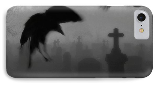 Ghost Crows IPhone Case