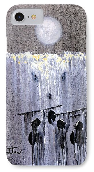 Ghost Dance Phone Case by Patrick Trotter