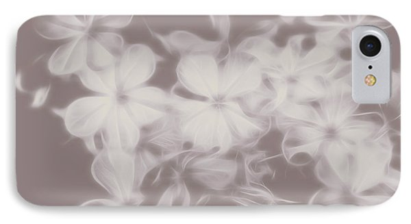 Ghost Flower - Souls In Bloom IPhone Case