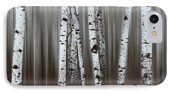 IPhone Case featuring the photograph Ghost Forest 1 by Bob Christopher