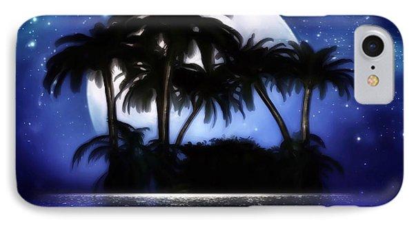 Shadow Island IPhone Case by Gabriella Weninger - David