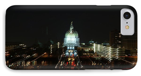 Ghost Lights Of Pa State Capital   # IPhone Case