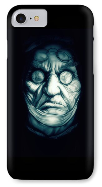 Ghost Marley IPhone Case by Fred Larucci