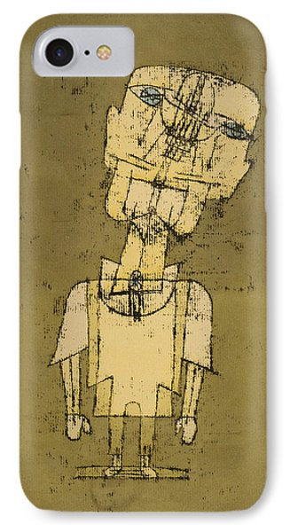 Ghost Of A Genius IPhone Case by Paul Klee