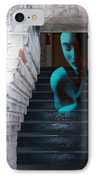 Ghost Of Pain - Self Portrait IPhone Case by Jaeda DeWalt
