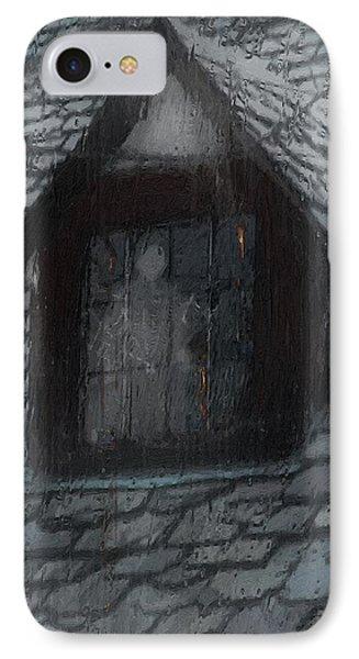 Ghost Rain Phone Case by RC deWinter