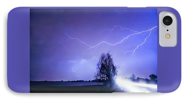 IPhone Case featuring the photograph Ghost Rider by James BO Insogna