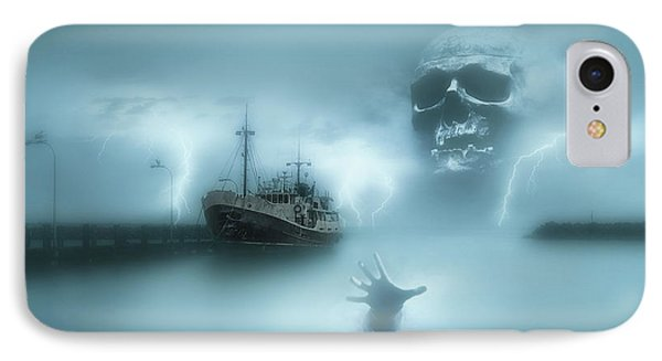 Ghost Ship 0002 IPhone Case