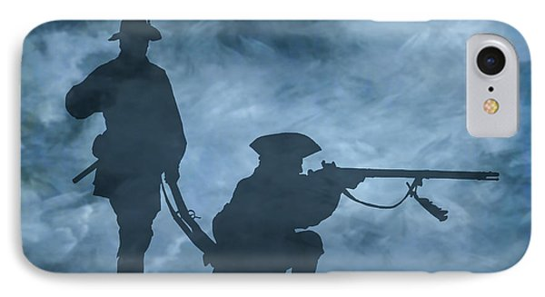 Ghost Soldiers IPhone Case by Randy Steele