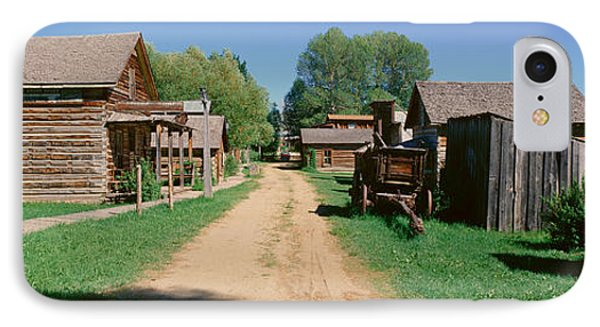 Ghost Town, Nevada City, Montana IPhone Case by Panoramic Images