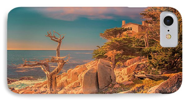 Ghost Tree At Sunset IPhone Case by Susan Rissi Tregoning