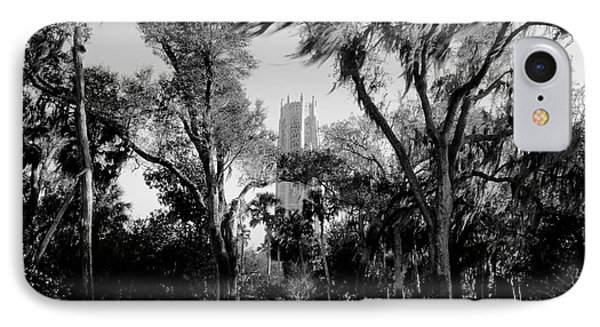 Ghostly Bok Tower Phone Case by David Lee Thompson