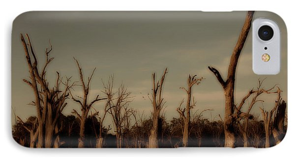 IPhone Case featuring the photograph Ghostly Trees by Douglas Barnard