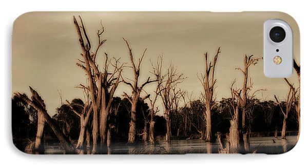 IPhone Case featuring the photograph Ghostly Trees V2 by Douglas Barnard
