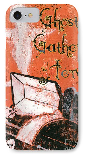 Ghosts Gather Here IPhone Case by Debbie DeWitt