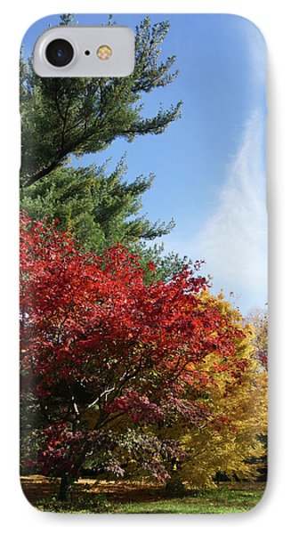 Ghosts Of Autumn IPhone Case