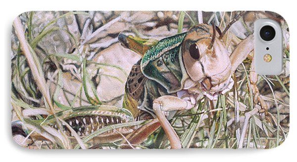 Giant Grasshopper IPhone Case by Joshua Martin