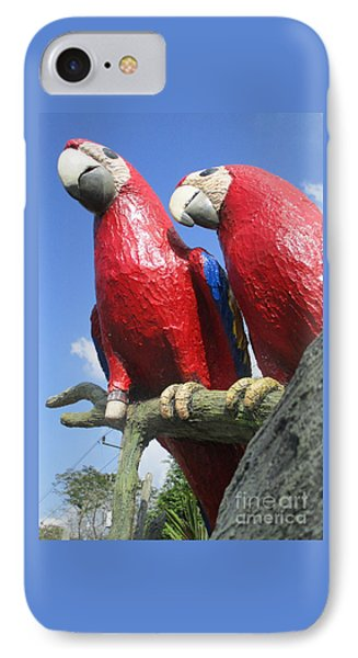 Giant Macaws IPhone 7 Case by Randall Weidner
