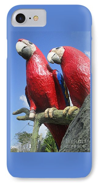 Giant Macaws IPhone Case by Randall Weidner