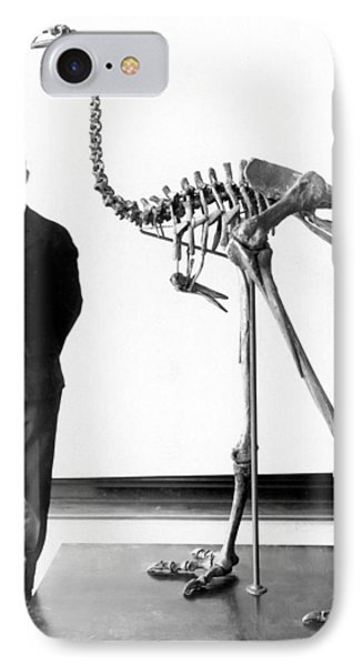 Giant Moa Skeleton IPhone Case by Granger