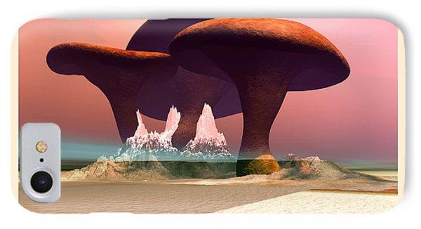 Giant Mushrooms IPhone Case
