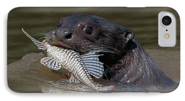 IPhone Case featuring the photograph Giant Otter #1 by Wade Aiken