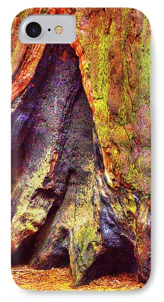 Giant Sequoia Base With Fire Scar IPhone Case
