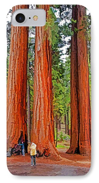 Giant Sequoias Phone Case by Dennis Cox