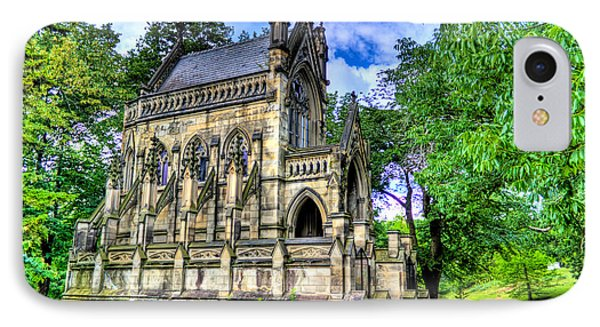 Giant Spring Grove Mausoleum IPhone Case by Jonny D