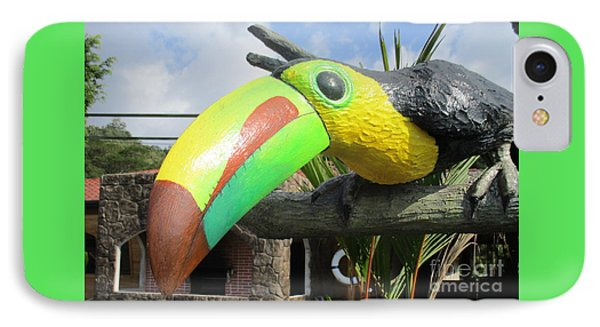 Giant Toucan IPhone 7 Case by Randall Weidner