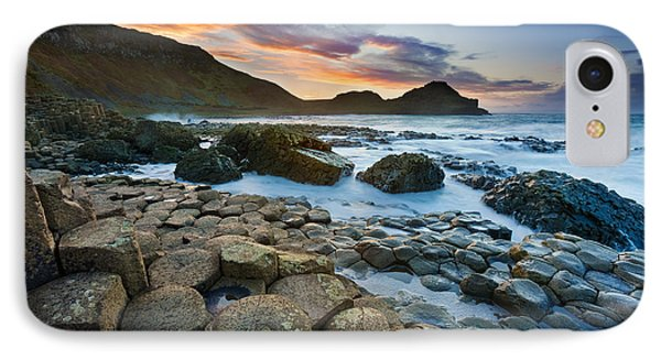 Giant's Causeway 1 IPhone Case by Rod McLean