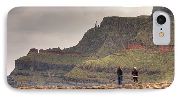 IPhone Case featuring the photograph Giants Causeway by Ian Middleton