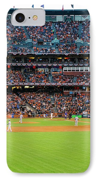 Giants Versus Cubs IPhone Case by Leio Ohshima