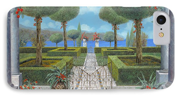 Giardino Italiano IPhone Case by Guido Borelli