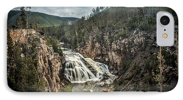 Gibbon Waterfall IPhone Case by Robert Bales
