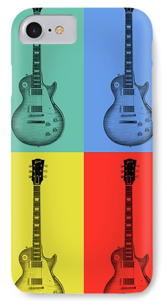 Gibson Guitar Pop Art IPhone Case
