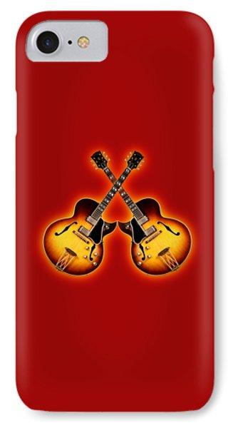 Gibson Jazz Phone Case by Doron Mafdoos