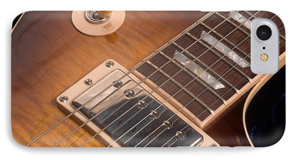 Gibson Les Paul Guitar By Gene Martin IPhone Case