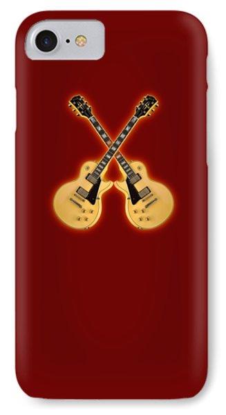 Gibson Randy Rhoads Les Paul Custom Phone Case by Doron Mafdoos