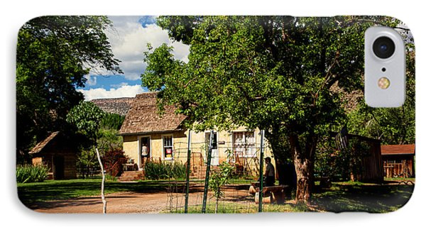 Gifford Homestead  IPhone Case by John Hesley