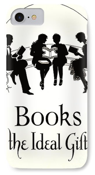 Gift Books 1920 IPhone Case by Padre Art