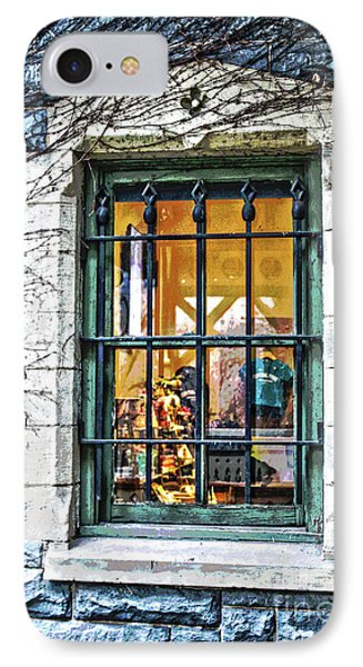 Gift Shop Window IPhone Case by Sandy Moulder