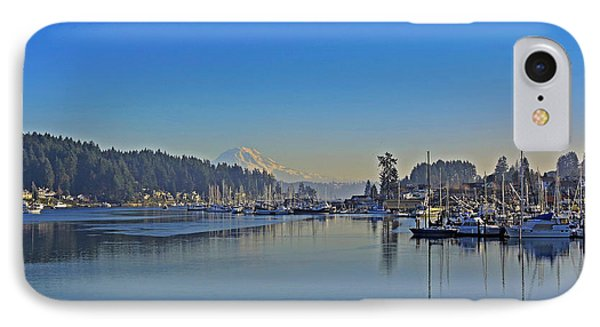 IPhone Case featuring the photograph Gig Harbor, Wa by Jack Moskovita
