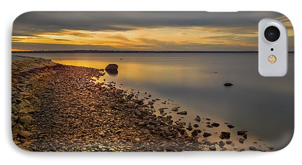 IPhone Case featuring the photograph Gilded Shore by Robin-Lee Vieira