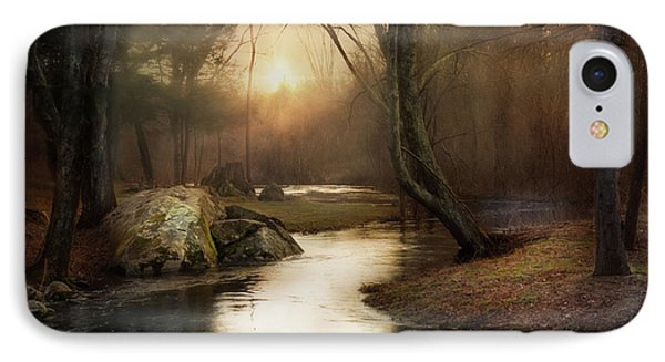 IPhone Case featuring the photograph Gilded Woodland by Robin-Lee Vieira